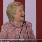 EEUU: Hillary Clinton reapareció entusiasta en acto de campaña(VIDEO)