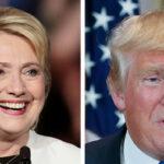 EEUU: Hillary Clinton se recupera y aventaja con 5 puntos a Donald Trump