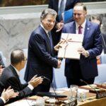ONU: Santos entrega acuerdo de paz con las FARC al Consejo de Seguridad