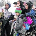 Miles de personas piden en Londres medidas para ayudar a refugiados