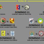 Segunda División: Programación, hora y escenarios de la fecha 19