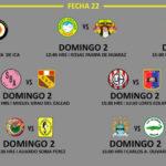 Segunda División: Programación, fecha, hora y escenarios de la fecha 22