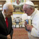 Papa Francisco: Legado de paz de Shimon Peres inspirará a todos