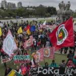 Brasil: Protestas contra presidente Temer en Maracaná y 40 ciudades (VIDEO)