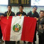 Escolares peruanos campeonan en olimpiada de biología de Brasil