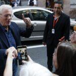 Richard Gere es recibido con entusiasmo en festival San Sebastián