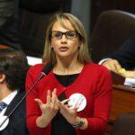 Congreso: Luciana León es elegida tercera vicepresidenta