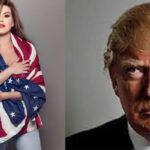 EEUU: Alicia Machado responde al ataque de Trump con una bandera