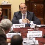 Zavala: Presencia de ministros en comisiones despeja dudas de facultades
