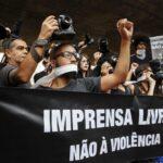 Brasil: Fotógrafos protestan por violencia policial en manifestaciones