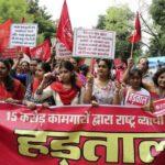 India: Millones de trabajadores en huelga por salario mínimo