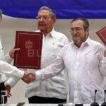 Juan Manuel Santos y jefe de las FARC favoritos al premio Nobel de la Paz