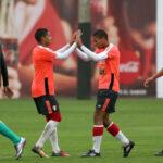 Selección peruana Sub 20 empata 2-2 con Alianza Lima