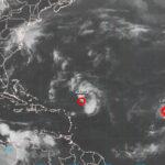 EEUU: Tormenta Lisa continúa su avance hacia el norte del Atlántico