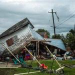 EEUU: Dos tornados destrozaron casas y cables eléctricos en Utah (VIDEO)