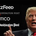 """EEUU: Trump elimina su """"lista negra"""" de medios de prensa que había vetado"""