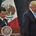 EEUU: Trump molesto por tuit de Peña Nieto endureció discurso en Arizona