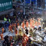 China: Aumenta a 17 la cifra de muertos por derrumbe de viviendas