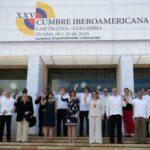 Presidentes inician reunión a puerta cerrada en la XXV Cumbre Iberoamericana