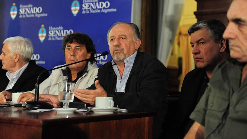 Pablo Moyano incendiario: