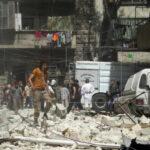 Siria: Al menos 50 muertos en últimas 24 horas por bombardeos en Alepo