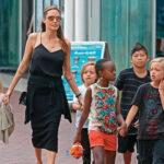 Angelina Jolie y sus seis hijos comienzan las sesiones de terapia