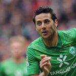 Werder Bremen alista la despedida de Claudio Pizarro