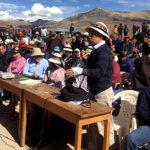 Diálogo en Cotabambas fue fructífero y mayoría aceptó tregua