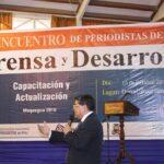 II Encuentro de Periodistas del Sur: Prensa y Desarrollo: Capacitan a comunicadores