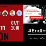 FIP: #Impunidad, transformar las palabras en acción