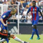 Liga Santander: Iniesta será baja en Barcelona entre 6 y 8 semanas