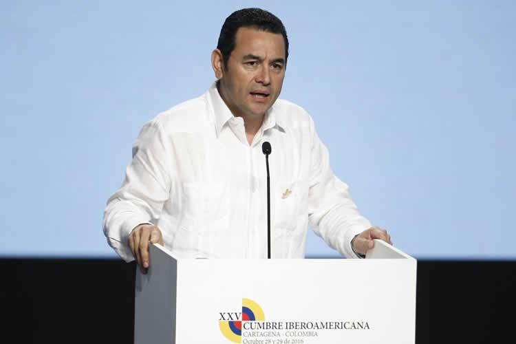 Jimmy Morales presi Guatemala