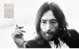 John Lennon - carta