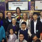 Man Bok Park en Salón de la Fama reconocido como leyenda del vóley mundial