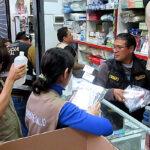 Incautan medicamentos de dudosa procedencia en el Cercado de Lima