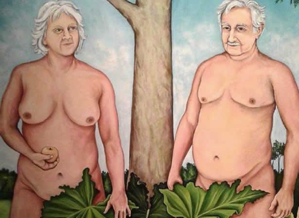 Mujica y sra - PINTURA