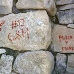 Cusco: Borran pintas hechas en piedras de ciudadela de Machu Picchu