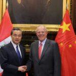 Canciller peruano se reunió con homólogo chino en visita oficial a Lima