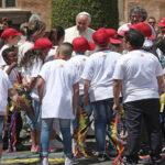 El Papa visita centro de menores con problemas familiares y sociales