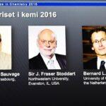 Nobel de Química 2016 a diseño y síntesis de máquinas moleculares