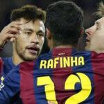 Liga Santander: Barcelona con golazo de Rafinha gana a Granada (VÍDEO)