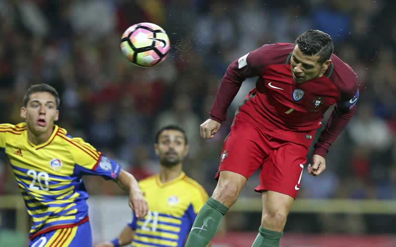 30fdf4c3001f1 Eliminatorias Rusia 2018  Portugal revive con goleada de 6-0 a Andorra