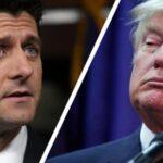 """Donald Trump ataca a Paul Ryan y lo llama líder """"débil e incompetente"""""""