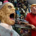 """""""Trump da miedo"""" es lema de un desfile de Halloween en Miami"""