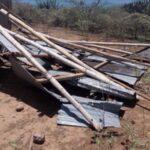 Fuertes vientos y lluvias afectaron a 380 casas en la selva peruana