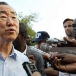 Ban Ki-moon demanda al mundo respuesta masiva para ayudar a Haití