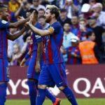 Lionel Messi anota en goleada del Barcelona al Deportivo