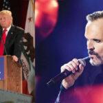 Miguel Bose: Donald Trump es un demente,  paranoico, ególatra y Calígula