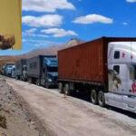 EvoMorales denuncia bloqueo a transportistas bolivianos en la frontera chilena