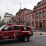 Argentina: Despliegue policial por amenaza de bomba en la Casa Rosada